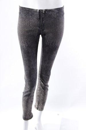 LeRock Skinny Jeans Plättchennieten