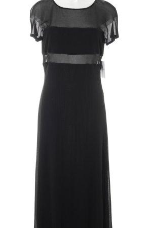 Les Copains Abendkleid schwarz Elegant