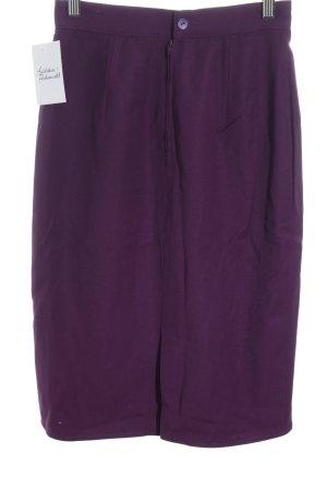 Les Copains Bleistiftrock violett Wickel-Look