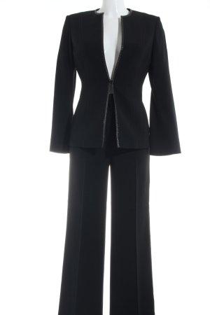 Les Copains Tailleur-pantalon noir style d'affaires