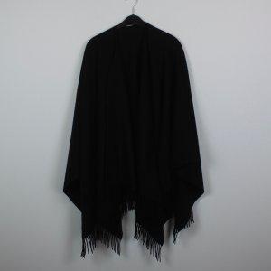 Les Copains Poncho schwarz (18/11/107/R)