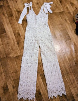 Les Eclaires Maxi Dress white polyester