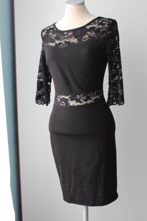 Les Filles De Paris  Kleid schwarz Spitze Sommerkleid Gr. 34/36