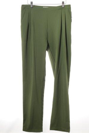 Lesara Peg Top Trousers grass green casual look