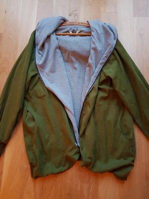 Lesara lange Jacke mit Kapuze