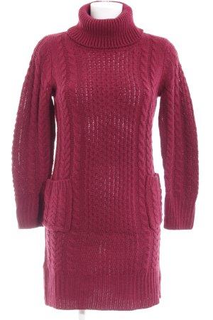 Lesara Abito maglione viola stile casual