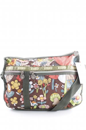 Lesportsac Schultertasche Blumenmuster Casual-Look