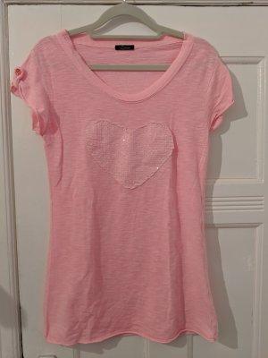 Bacino Print Shirt pink