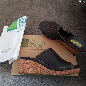 Letzer Preis El Naturalista Pantolette Leder 39 Neuwertig