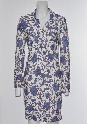 Letzte Chance: Blusenkleid Seide Blumenprint Isabel Marant XS 36