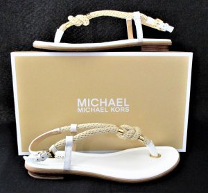 Letzte Chance / FLASH-SALE ⭐️Orig. Michael Kors Holly Rope-Trim Sandalen