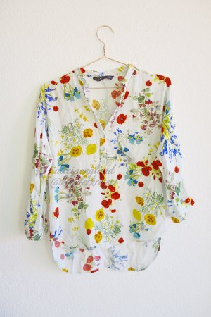 Zara Blouse multicolored