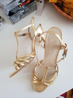 letzte CHANCE!goldene high-heels gekauft bei Victorias secret