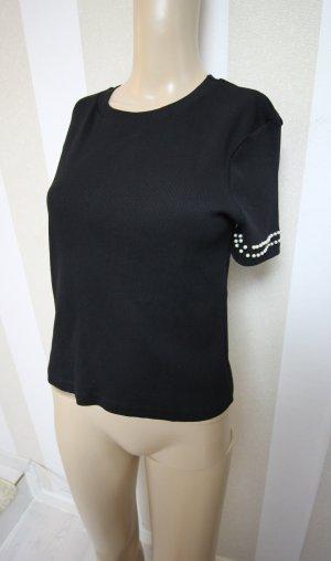 Zara Haut blanc-noir