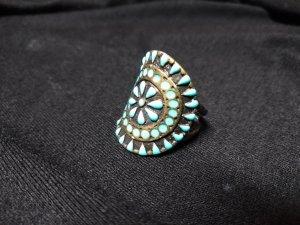 *LETZTE CHANCE* Modeschmuck Ring mit orient. Muster
