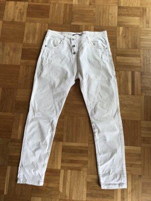 Letzte Chance - Schöne weiße please Sommerhose Gr. Medium * letzte Reduzierung