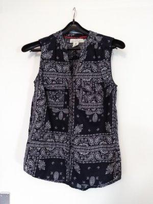 *LETZTE CHANCE* Süße ärmellose Bluse, mit Paisley-Muster