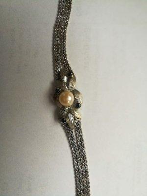 LETZTE CHANCE!  zeitlos schönes Armband , 14 kt. Weissgold, Vintage