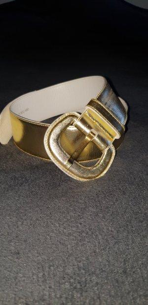 Escada Leather Belt gold-colored