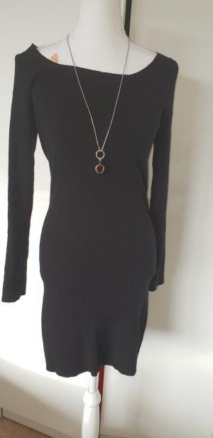 Stefanel Gebreide jurk zwart