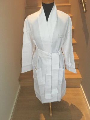 Christian Dior Dressing Gown white cotton