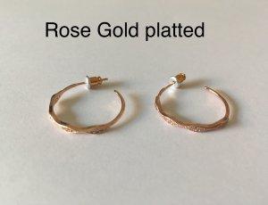 Letzte Preisreduzierung:) Schöne Ohrringe - Rose Gold platted