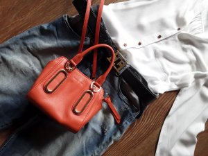 See by Chloé Bag bright red leather