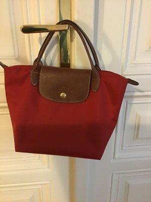 Longchamp Mini Bag brick red