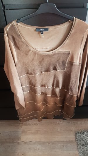 x-two Oversized Shirt bronze-colored