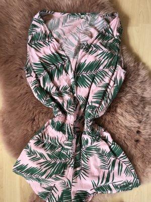 BlendShe Jumpsuit light pink-forest green