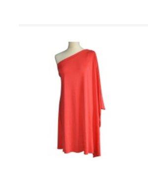 letzte Reduzierung - ISSA - one shoulder Kleid aus Seide ( Seiden Jersey) Grösse M/L