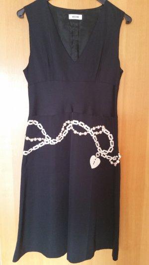 letzte Reduzierung - Moschino Kleid mit Perlenbesatz u Stickerei