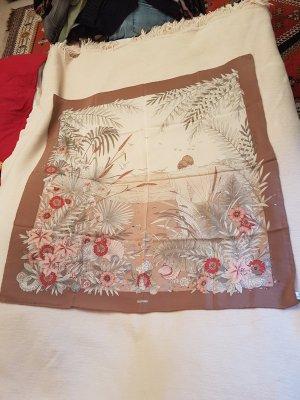 Pancaldi Zijden sjaal roségoud-lichtbruin Zijde