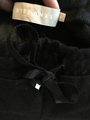 Stefanel Wollen broek zwart
