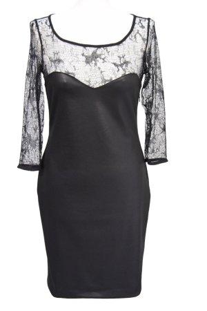 LETZTE REDUZIERUNG **Schwarzes elegantes Kleid von Guess**