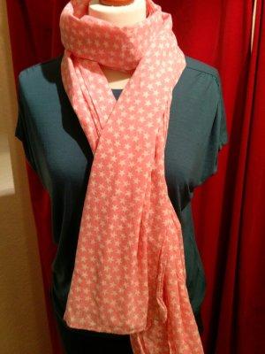 Letzte Reduzierung! Sternenprint - Tuch in frischem Aprikot - Rosa von Beck Söndergaard-wie neu