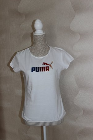 LETZTE STARKE REDUZIERUNG! Weißes T-Shirt von Puma