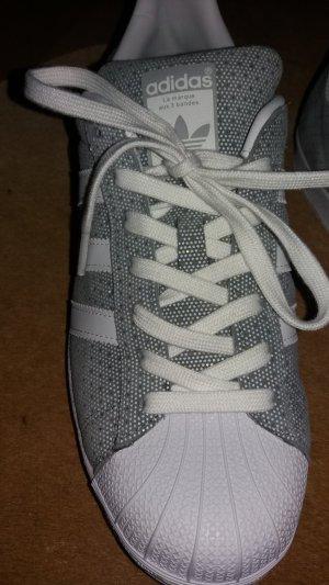 Adidas Originals Basket blanc-argenté