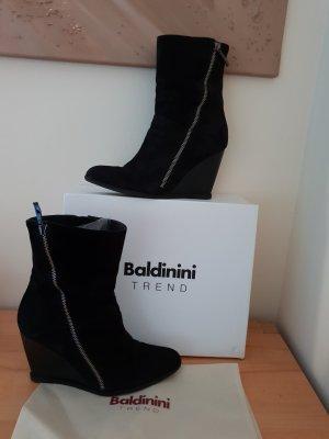 Letzter Preis Baldinini Trend Stiefelette Rauhleder Gr. 39 sehr guter Zustand