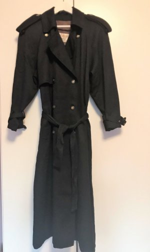 The Vintage Shop Trenchcoat donkerblauw-roodbruin