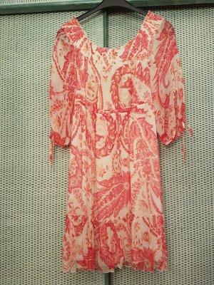 Blumarine Dress cream-bright red