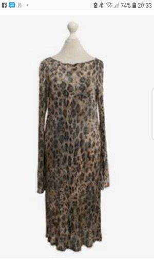 letzter Preis# BLUMARINE - Seidenjersey Kleid im eleganten Animal Look # NEU# D 40/D42