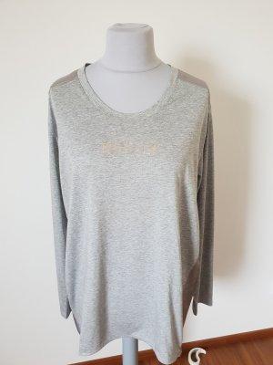 Bogner Lang shirt goud-lichtgrijs