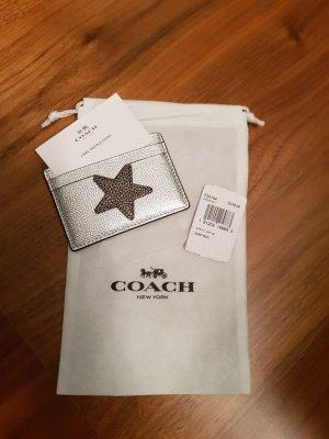 Coach Card Case silver-colored-bronze-colored