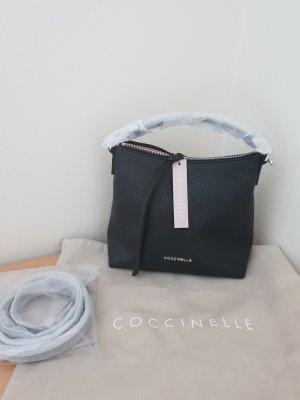 Letzter Preis Coccinelle Umhängetasche Leder schwarz Neu
