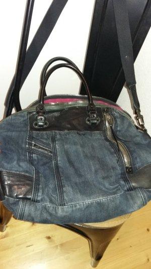 LETZTER PREIS DIESEL Jeans /Leder Bag