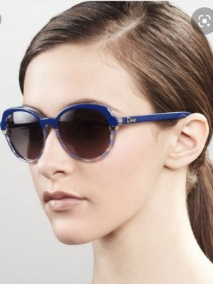Letzter Preis Dior Sonnenbrille Modell Croisette 3 Blau Neu