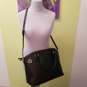 Letzter Preis Gucci BAG Charmline Leder schwarz Neu mit Etikett + Geschenk Original Gucci Nagellack