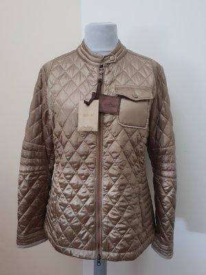 Handstich Quilted Jacket bronze-colored-light brown