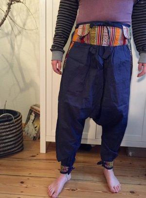 Harem Pants multicolored cotton